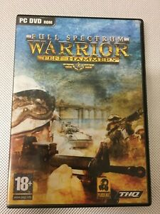 PC DVD ROM WARRIOR TEN HAMMERS FULL SPECTRUM (MIS)