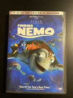 Disney's Finding Nemo dvd with case 2 disc collector's edition