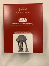 New Hallmark 2020 Star Wars Imperial AT-AT Walker Ornament Free Shipping