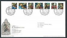 29165) UK - GREAT BRITAIN 2009 FDC Christmas 7v