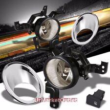 Smoke Len Front Bumper Fog Light Lamp+Bezel+Bulb+Switch For Honda 07-09 CRV RE