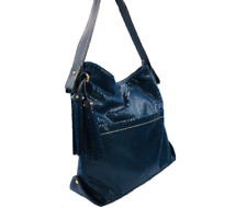 Sondra Roberts Women's Small Hobo Shoulder Bag - (Blue)*