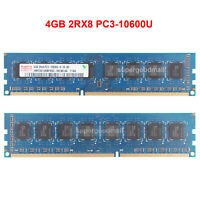 For Hynix 4GB 2RX8 PC3-10600U DDR3-1333MHz 1.5V CL9 DIMM Desktop Memory RAM