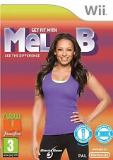 Wii Spiel Get Fit with Mel B Balance Board kompatibel NEU