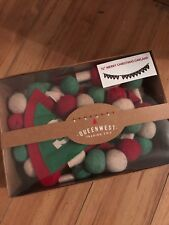 NEW Queenwest Trading Co MERRY CHRISTMAS 6 Foot Felt Garland India