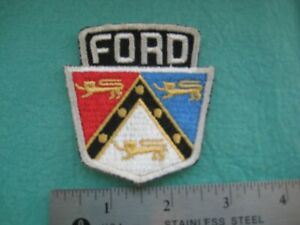 Vintage Early Ford Shield Falcon Fairlane Mustang  Patch
