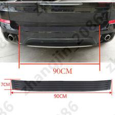 Car Rear Bumper Guard Protector Trim Cover Sill Plate Trunk Rubber Pad Kit Black Fits 2007 Sportage