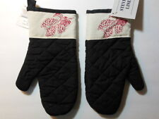 """1 NWT oven mitt - THE VINEYARD, GRAPES,   5.25"""" wide at top, 12"""" long"""