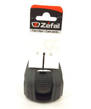 Zefal Half Toe Clips Christophe 45 Small (S/M) Polymer MTB Commuter Road Bike