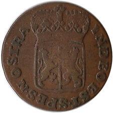 1786 Netherlands - Gelderland 1 Duit Coin KM#105