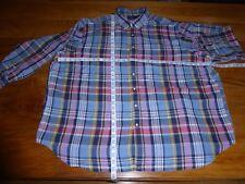 Ralph Lauren 4X Classic Fit Linen blend checked Sport Shirt, used but nice!