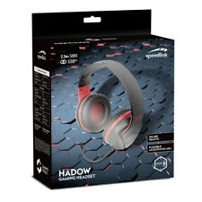Speedlink Hadow Stereo Pc Gaming Headset With Flexible Microphone Stereo Jack