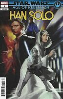 Star Wars Comic 1 Age Of Rebellion Han Solo Cover C Variant 2019 Marvel