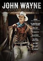 John Wayne: 9 Movie Western Collection (9 Disc) DVD NEW