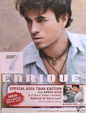 "Enrique Iglesias ""7 - Special Asia Tour Edition"" Thailand Promo Poster"