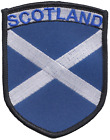 Scotland Saltire Large Shield Embroidered Patch