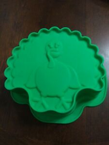 Fun!! Unbranded Silicone Cake Mold Mould ~ Thanksgiving  TURKEY