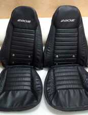 Datsun 280z Synthetic Leather Seat Covers with Logos