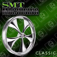 """23"""" X 3.75 inch custom motorcycle wheels harley roadking streetglide bagger"""