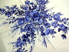 POLO Ralph Lauren Handkerchief scarf bandana White Blue Auth New Collectible
