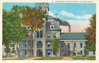 JACKSON MI – State Prison Entrance - 1926