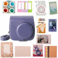 Fujifilm Instax Mini 8 Classic Camera Case & Accessory Bundle 12-in-1 Set Purple
