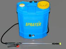 Backpack Weed Garden Sprayer Knapsack 16 Litre 12v 240v  Battery Cordless Spray