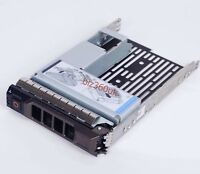 "for DELL PowerEdge 2.5"" to 3.5"" SAS/SATA Hard Disk Adaptor+Caddy F238F 9W8C4"