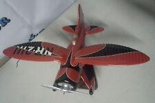 Esag022 Desktop Hall'S Bulldog Racer 1/20 Black Red Aircraft Airplane