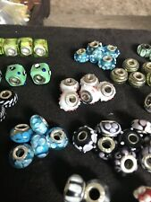 Sterling Silver Glass Beads