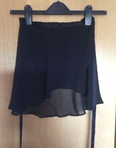 Bloch Black Ballet Wrap Skirt Medium