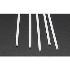 Plastruct .100 Round Rods Styrene (5) 90860 x
