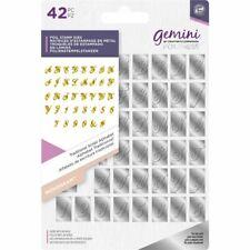Crafter's Companion Gemini Hot Foil Monogram Stamp Die - Traditional Alphabet