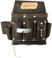 AWP HP 113-cu in Leather Tool Pouch Professional Electrician