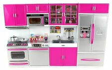 Envo Toys Large Kitchen Play Set Toy Pretend Play Kitchen Perfect For Kids Dolls