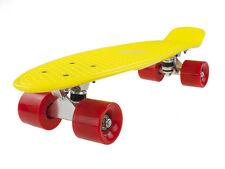 Retro Penny Board Vivo Yellow / Red Pennyboard Skateboarding