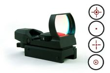Tactical 4 Reticle Reflex Red Dot Sight Holographic Picatinny Weaver Mount