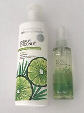 Essence of Beauty CITRUS COCONUT Uplifting Body Lotion & Mist Set