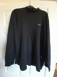 Vintage Nike Black Sweatshirt XL