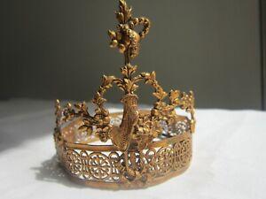 COURONNE DE VIERGE marie jesus holy santos crown eglise reliquaire ex voto