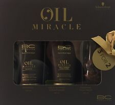 Kit Oil Miracle: Shampoo Champu 200ML + Conditioner 150ML+ Oil 100ML SchwarzkopF