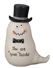 """Blossom Bucket """"Spook""""tacular Ghost with Top Hat"""
