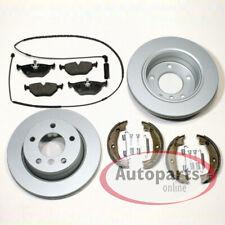 BMW 3er e36 - Discos de Freno Coat Pastillas Mano Accesorio Kit Para Trasero