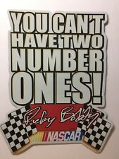Nascar Talladega Nights Magnet Ricky Bobby Quote You Can't Have Two Number Ones!