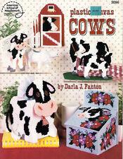 Plastic Canvas #3096 Cows by Darla J Fanton for American School of Needlework
