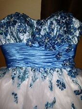 Tony Bowls Sequence Designer Short Prom Dress