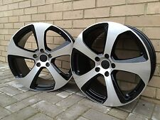 "18"" GTI8 ALLOY WHEELS ONLY FIT VOLKSWAGEN GOLF MK6 GT TDI GTI R32 TFSI GTTDI"