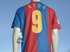 BNWT Official Nike 2006-2007 Barcelona Home Samuel ' ETOO 9 ' Shirt XL