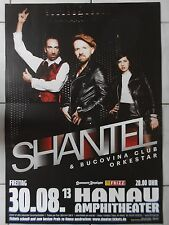 Shantel 2013 Hanau -- Orig. Concert Poster-concert affiche a1 NEUF