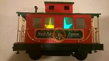 Eztec G Gauge LIGHT UP CABOOSE North Pole Express Train-Scientific Toys Holiday